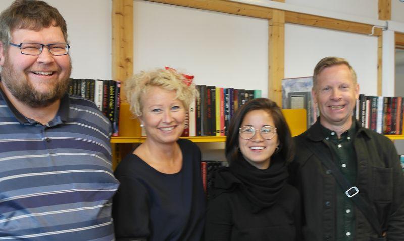Bilde av Per Olav Holmen, Tove Merethe Mangset, Anna Berg og Rune Rebne