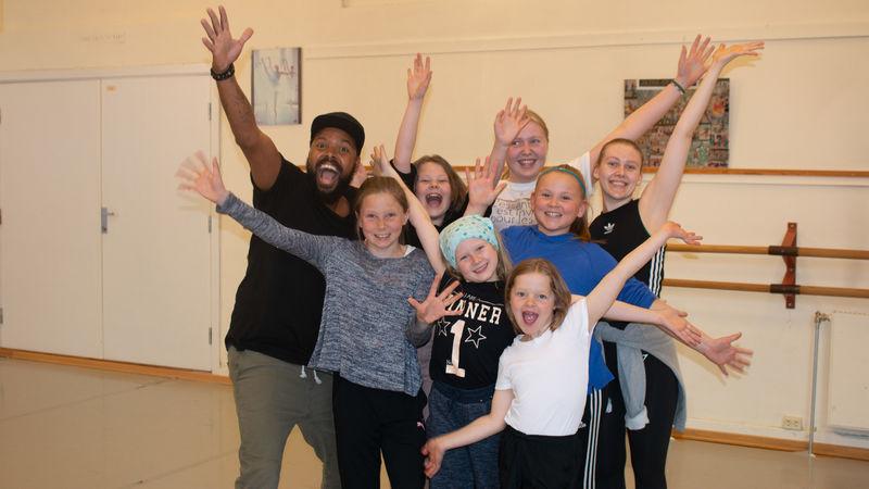 Joma Masai starter som hip-hop lærer ved Kulturskolen i Ringsaker