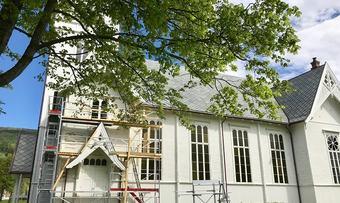 Stangvik kyrkje dugnad innsendt