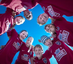 OSLO, NORWAY - OCTOBER 03: Photo call at Tine Fotball Skole at Ekebergsletta on October 3, 2017 in Oslo, Norway. (Photo by Trond Tandberg/Getty Images)