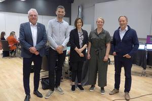 Jan Geir Solheim, Tore Hågård, Anja Rogde, Vivi Ann Abelsen og Helge Ulvestad