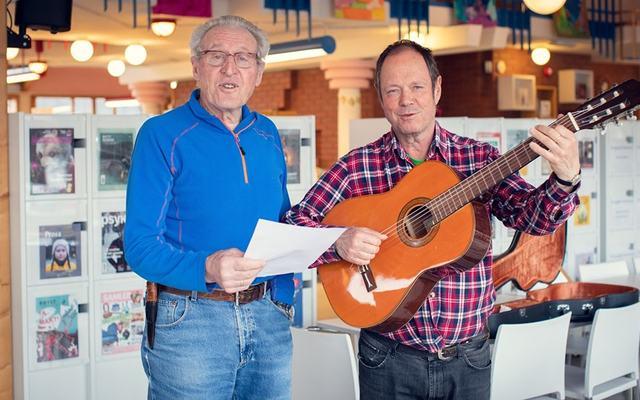 Bilde av Ole Ellefsæter og Helge Hagen