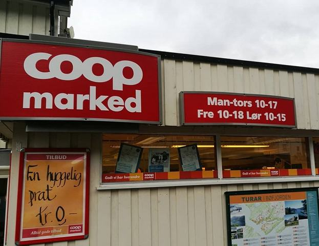 Coop Marked Bøfjord - Front