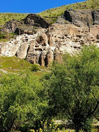 Vardzia cave city,Erusheti Mountain,Georgia,UNESCO