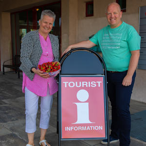 Turistkontor er nå åpnet i Moelv