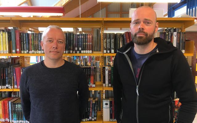 Bilde av Stian Torjussen og Gunnar Klinge