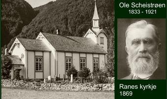 Ole Scheistrøen og Ranes kyrkje