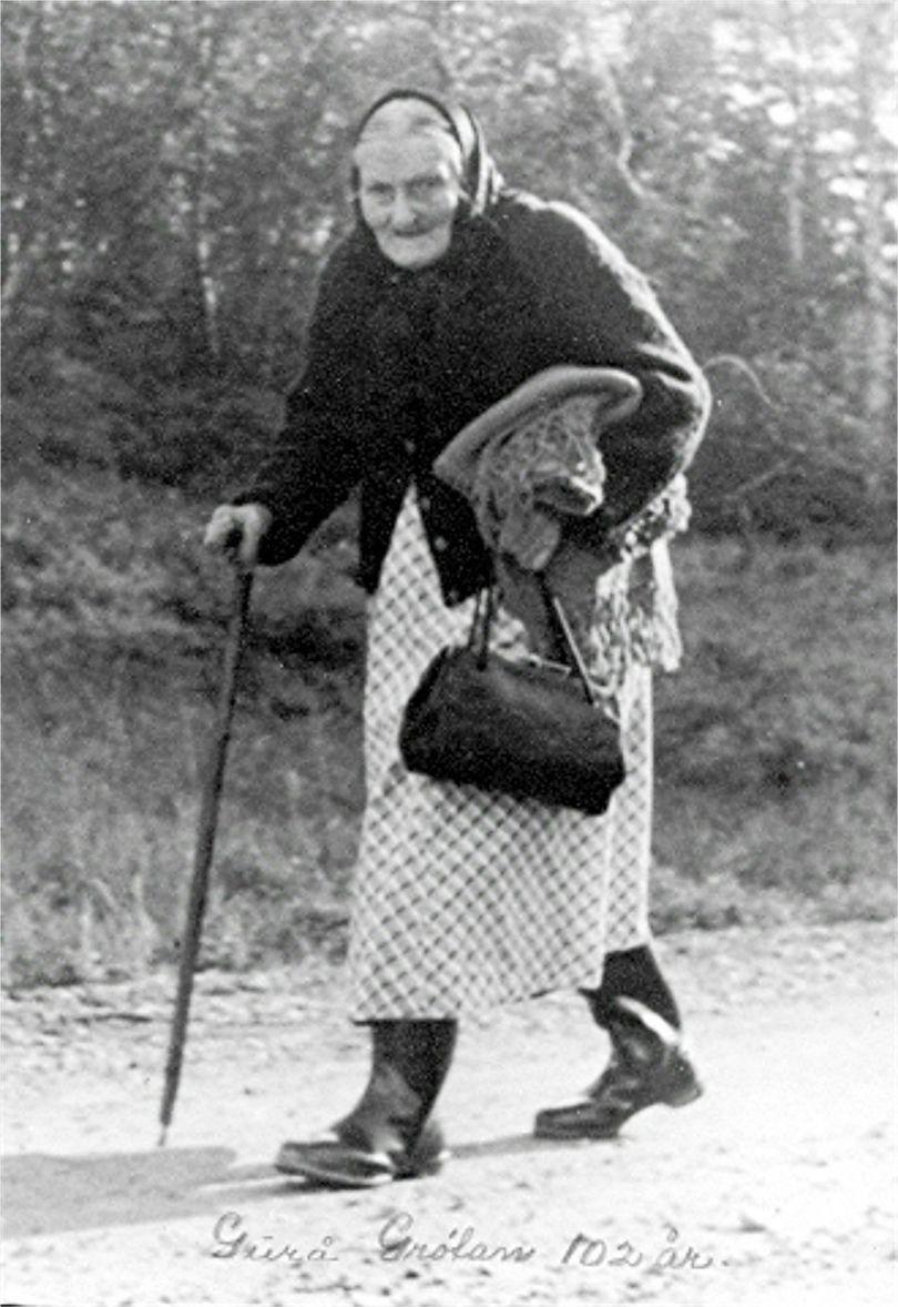 Markante e Grøtan Guro 102 år Går til Betna