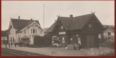bilde av Moelv stasjon