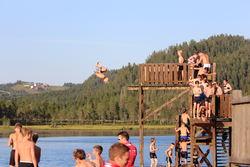 2019-08-02 2019-08-02 Camp Trollheimen hinderløp Skiskole Tjønna canon 073