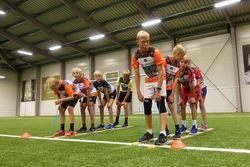 2019-08-02 Camp Trollheimen økt2 skiskole Rindalshallen 051