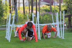 2019-08-02 Camp Trollheimen hinderløp Skiskole Tjønna 013