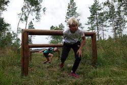 2019-08-03 Camp Trollheimen Skiskole Hinderløypestafett og Gjørmebad 011