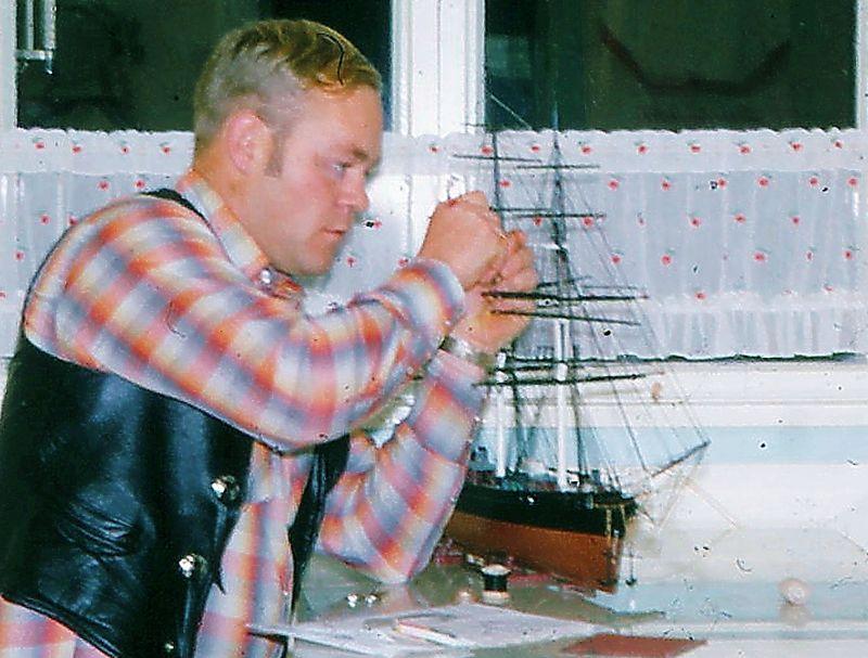 Samlar c MODELL Cutty Sark Jon S 1967