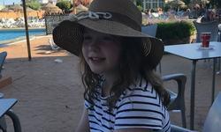 Una Marie Sandum Aasprong 9 år