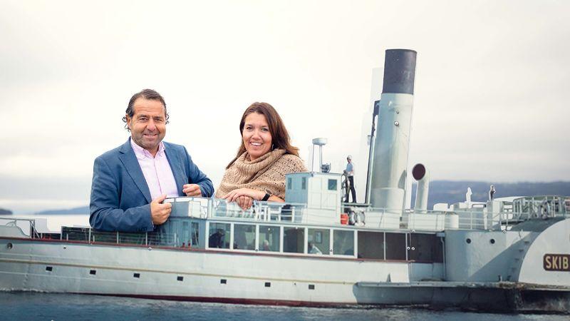 Foto av kultursjef og byutvikler