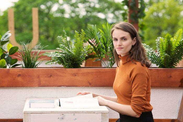 PSYKOLOGSTUDENT Som fremtidig psykolog føler Jenny Langlo at tinnitusen er en styrke i møte med andre.