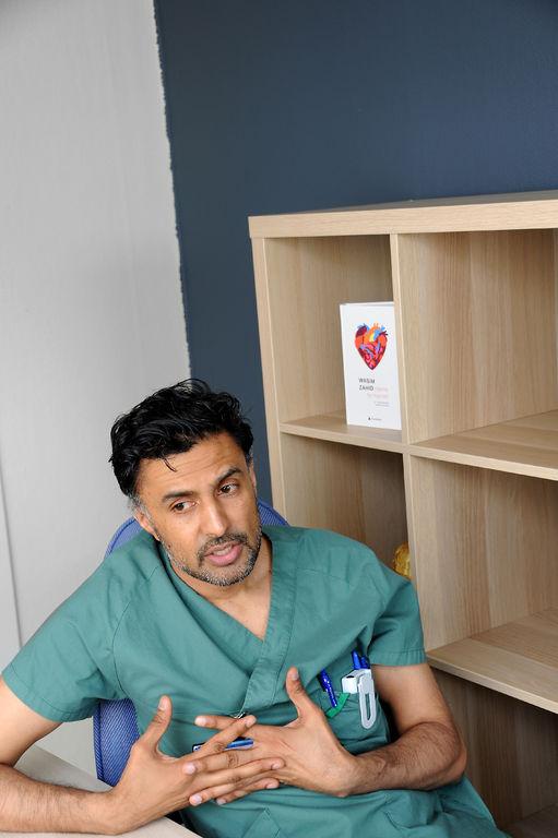 NEDSATT HØRSEL. I likhet med mange andre tinnitus-rammede har Wasim Zahid fått nedsatt hørsel. -Min største frykt er å miste hørselen.