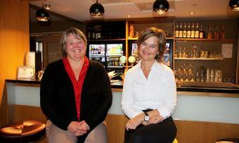 Annett Ranes og Margrethe Svinvik valgvake 090919 ps 2000