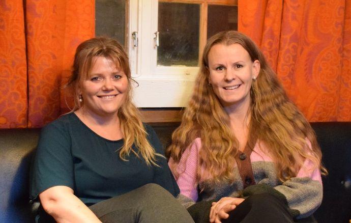 Camilla Løften og Line Flåtten 2