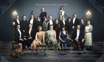 programbilde liggende Downton Abbey