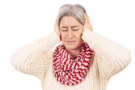 ALTOPPSLUKENDE. Lydene i hodet kan skape både frykt og andre stressreaksjoner. Nesten halvparten av tinnituspasientene har søvnvansker. Illustrasjonsfoto Colourbox Ulrike Schanz
