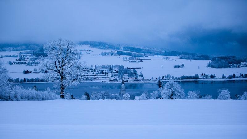 Bilde av vinterlandskap