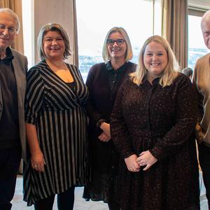 Flere av ordførerne i innlandet var på møte om InerCity