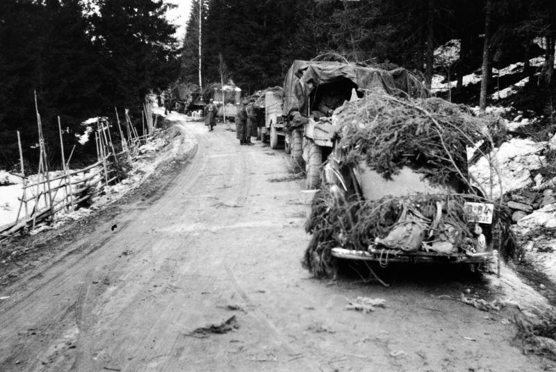 bilde fra krigsutbruddet i 1940 fra Åsmarka