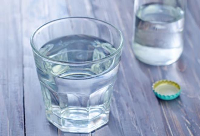 Drikkevatn i glas