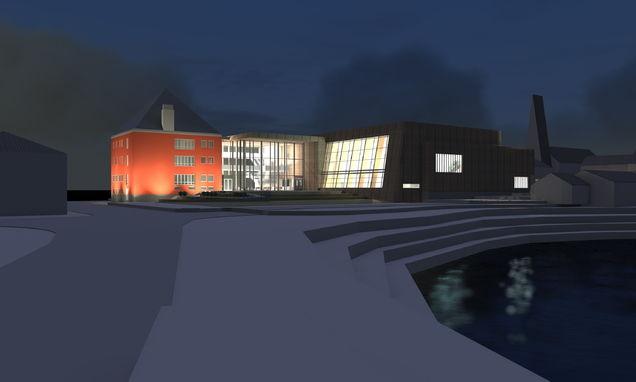 Rådhuset tegning