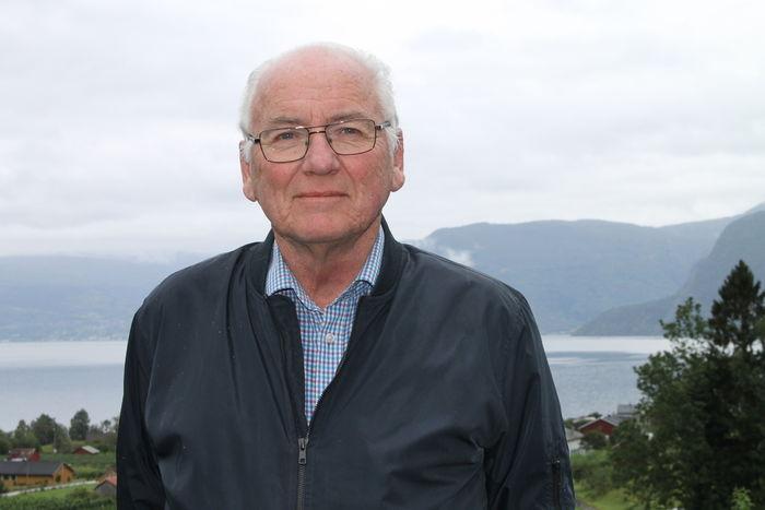 VIL HJELPE ANDRE. Bjarne Bjørkevoll er ikke flau over å stå frem med problemet sitt. Hvis dette kan være til hjelp for andre, er han veldig fornøyd, sier. (Foto Privat)