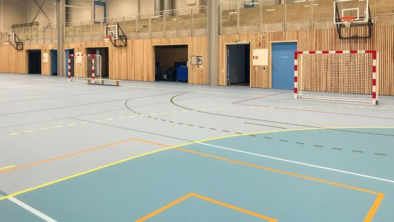 Foto fra hallen