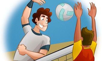 volleyball ill fra Pixabay