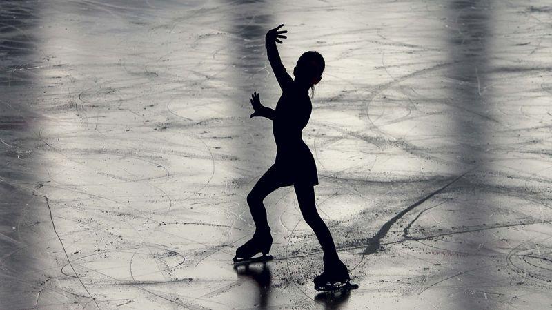 Foto av isdanser
