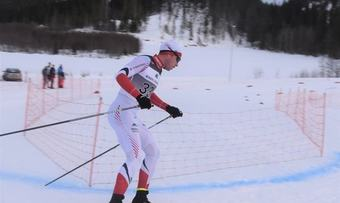 Gjermund Løfald NM foto Rindal IL Ski