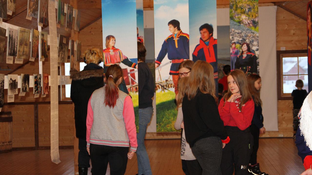 Samefolket dag utstilling på Gamvik Museum 06