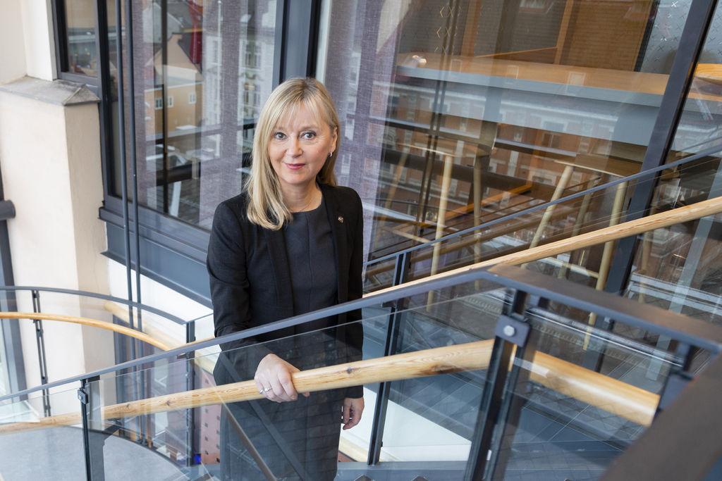 Trondheim 20.01.2020 : Portretter og pressebilder av ledelsen med direktør Trude Vollheim i Arbeidstilsynet. Foto: Thor Nielsen