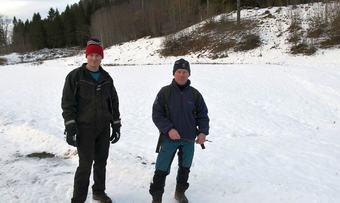 Ola Kvendset og Lars Olav Lund foto Jon Olav Ørsal