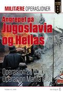 omslaget til Angrepet på Jugoslavia og Hellas