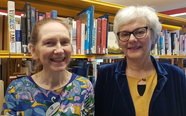 bilde av Reidun Riisehagen og Linda Brandal