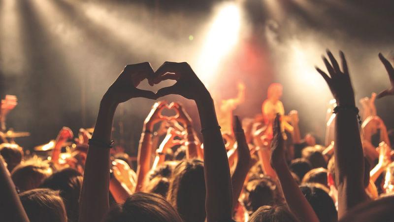 Foto fra konsert - Pixabay.com