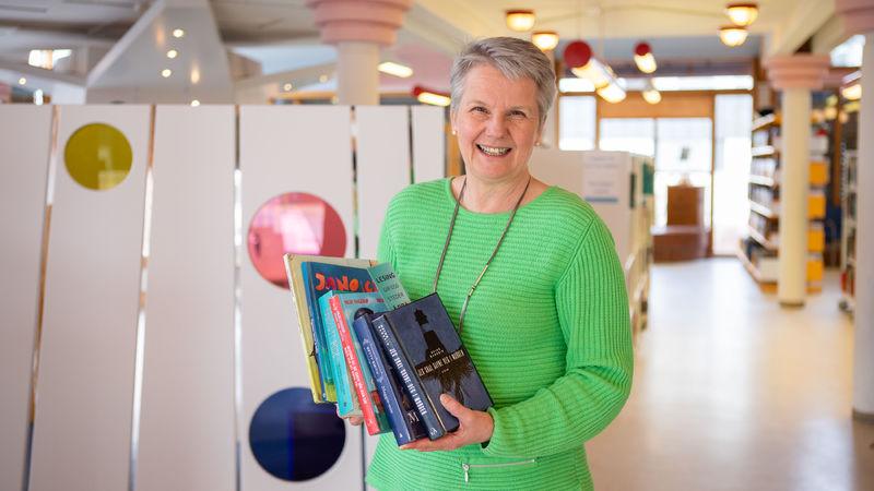 Foto av biblioteksjef Mette Westgaard