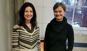 Jenny Klinge og Margrethe Svinvik crop