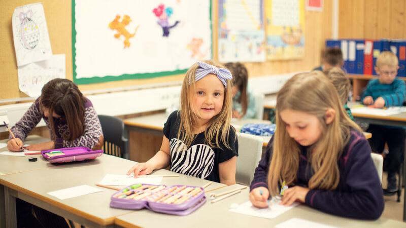 Foto av elever fra Ringsaker