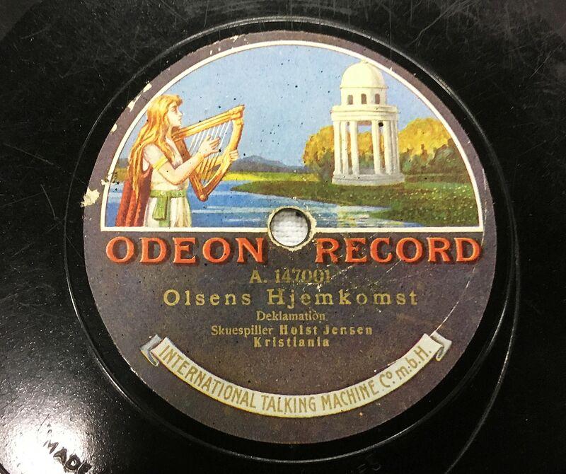 Kulturgåve e Odeon Olsens Hjemkomst