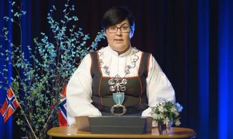 Ordfører Vibeke Langli skjermdump