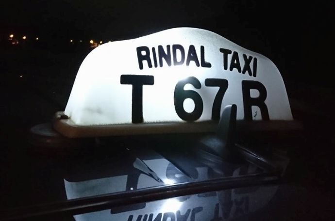 Rindal taxi ill