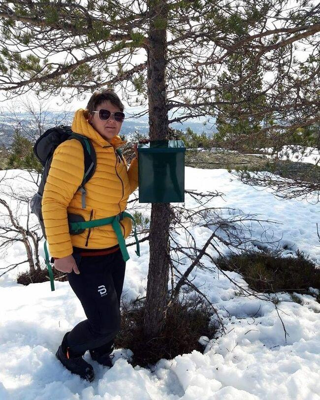 Postkasse på Nokkedalsfjellet