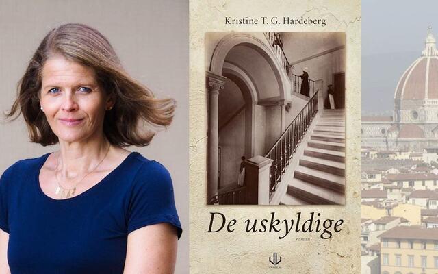 omslaget til De uskyldige og bilde av Kristine Hardeberg